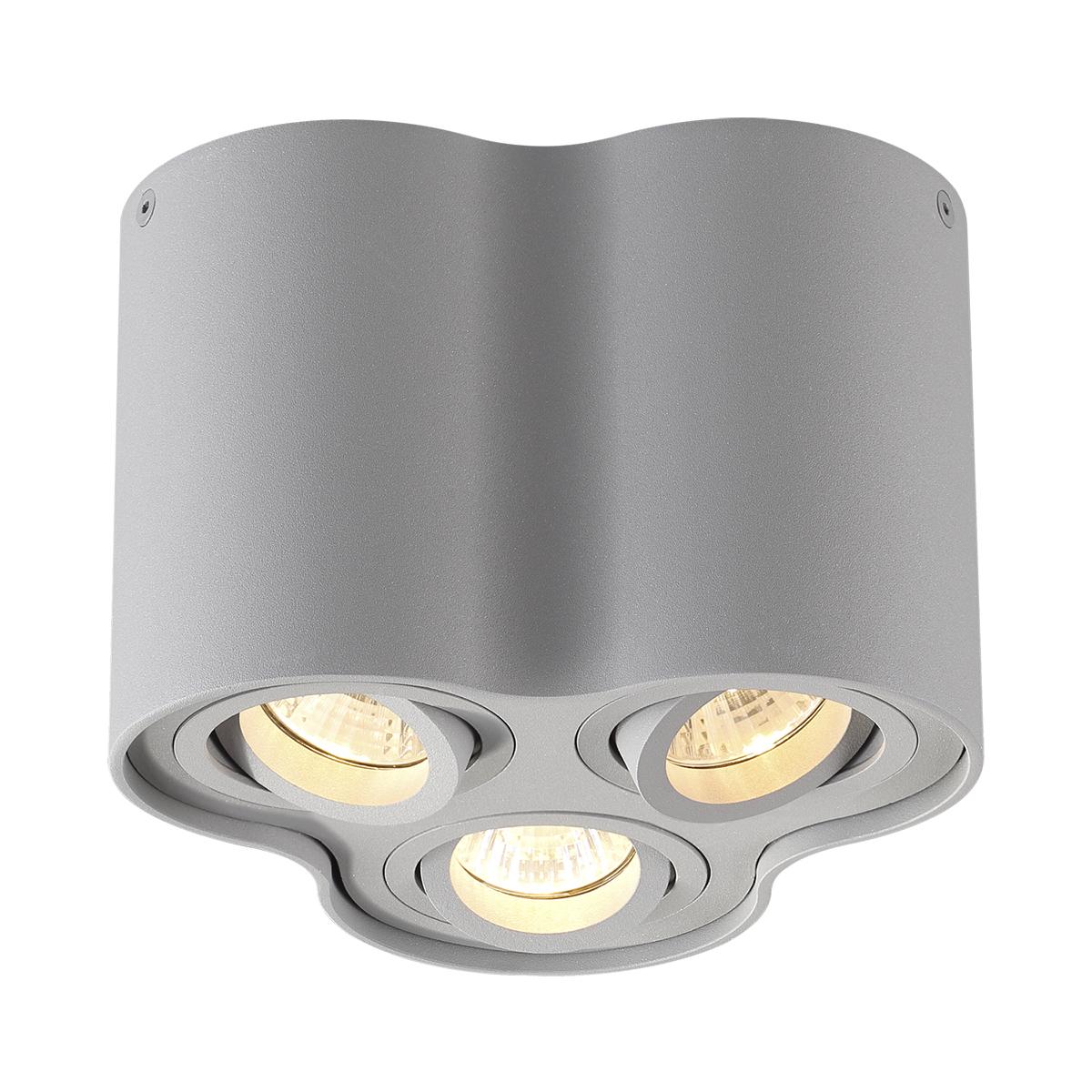 Потолочный светильник Odeon Light 3831/3C, серый, металл - фото 1