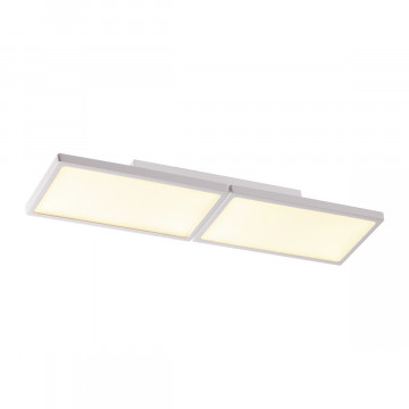 Потолочный светодиодный светильник Odeon Light Super Slim 3870/30CL 3000K (теплый), белый, металл, пластик