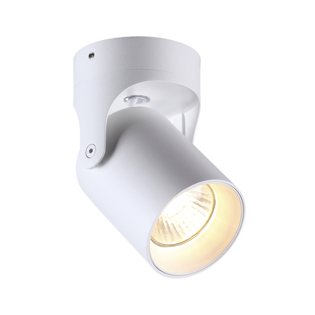 Потолочный светильник с регулировкой направления света Odeon Light Hightech Corsus 3854/1C, 1xGU10x50W, белый, металл