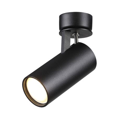 Потолочный светильник с регулировкой направления света Odeon Light Hightech Kiko 3872/1C, 1xGU10x50W, черный, металл