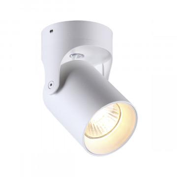 Потолочный светильник с регулировкой направления света Odeon Light Corsus 3854/1C, 1xGU10x50W, белый, металл
