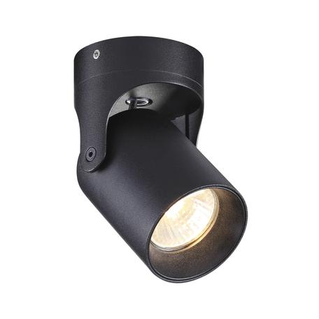 Потолочный светильник с регулировкой направления света Odeon Light Hightech Corsus 3855/1C, 1xGU10x50W, черный, металл