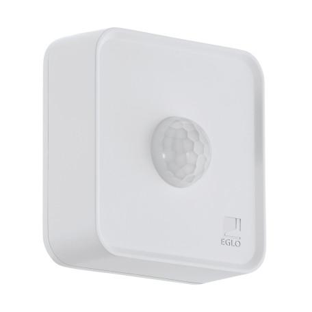 Датчик движения и освещенности Eglo Connect Sensor 97475, IP44, белый, пластик
