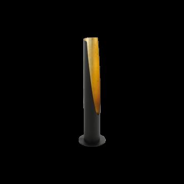 Настольная лампа Eglo Barbotto 97583, 1xGU10x5W, черный, металл