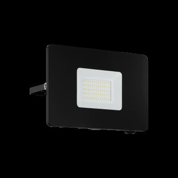 Светодиодный прожектор Eglo Faedo 3 97458, IP65, LED 50W, черный, металл, стекло