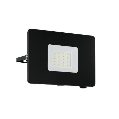 Светодиодный прожектор Eglo Faedo 3 97458, IP65, LED 50W 5000K 4800lm, черный, металл, металл со стеклом, стекло