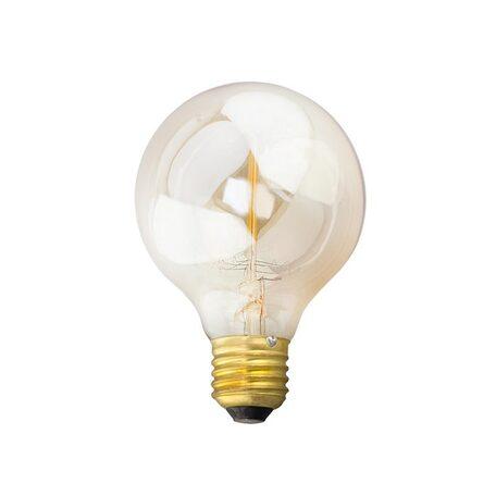 Лампа накаливания Citilux Bulb Loft G80-19FL G80 E27 40W, 2600K (теплый) 220V, диммируемая