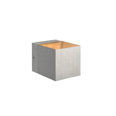 Настенный светильник Lucide Devi 09201/01/12, 1xG9x42W, матовый хром, металл