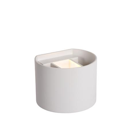 Настенный светильник Lucide Xio 09218/04/31, 1xG9x4W, белый, металл