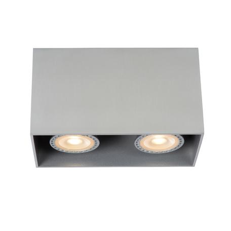 Потолочный светильник Lucide Bodi 09101/02/12, 2xGU10x50W, матовый хром, металл