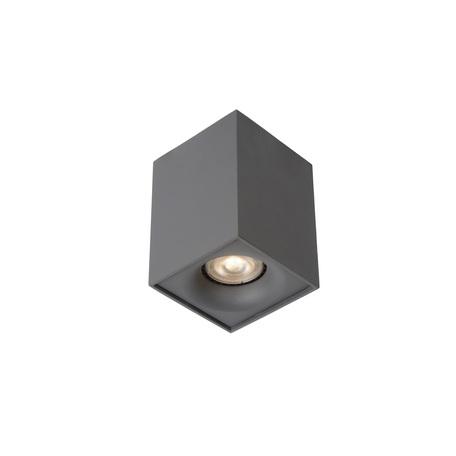 Потолочный светильник Lucide Bentoo-LED 09913/05/36, 1xGU10x5W, серый, металл