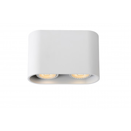 Потолочный светильник Lucide Bentoo-LED 09914/10/31, 2xGU10x5W, белый, металл