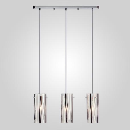 Подвесной светильник Eurosvet Beverly 1575/3 хром, 3xE27x60W, хром, металл, стекло
