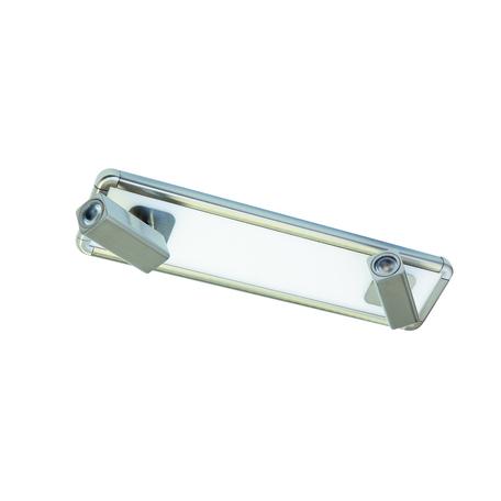 Потолочный светильник с регулировкой направления света Mantra Ibiza 5254, никель, белый, металл, пластик