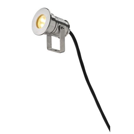 Светодиодный прожектор SLV DASAR® PROJECTOR HV 233571, IP67, LED 3000K, сталь