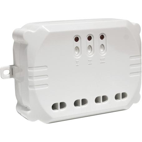 Радиореле SLV CONTROL BY TRUST 470803, белый