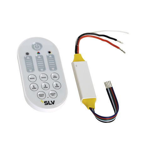 RGBW-контроллер с пультом дистанционного управления SLV COLOR CONTROL, RGBW MASTER 470671, белый