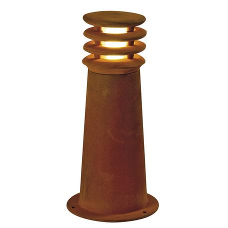Садово-парковый светодиодный светильник SLV RUSTY® ROUND 40 LED 233407, IP55, LED 3000K, коричневый, металл
