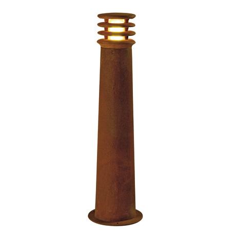 Садово-парковый светодиодный светильник SLV RUSTY® ROUND 70 LED 233417, IP55, LED 3000K, коричневый, металл
