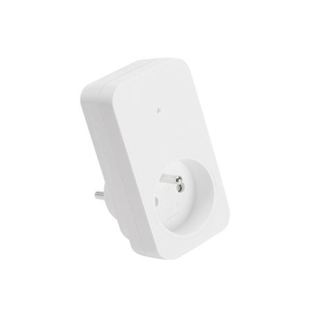Штекерный радиовыключатель с розеткой SLV CONTROL BY TRUST 470823, белый
