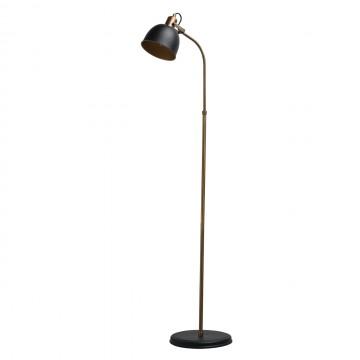 Торшер MW-Light Вальтер 551041501, бронза, черный, золото, металл