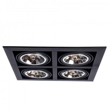 Arte Lamp Cardani Grande A5935PL-4BK, 4xG53x50W, черный