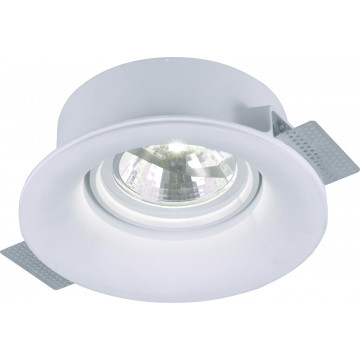 Arte Lamp Invisible A9271PL-1WH, 1xG53AR111x50W, белый, под покраску