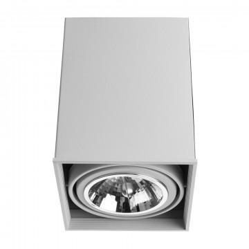 Потолочный светильник Arte Lamp Cardani Grande A5936PL-1WH, 1xG53AR111x50W, белый, металл