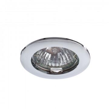Встраиваемый светильник Arte Lamp Basic A2103PL-1CC, 1xGU10x50W, хром, металл