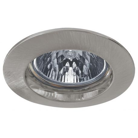 Встраиваемый светильник Paulmann Premium Line Halogen 12V GU5,3 51mm 99360, IP44, 1xGU5.3x35W, матовый хром, металл