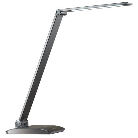 Настольная светодиодная лампа Lumion Desk Reiko 3757/7TL, LED 7W 5000K, черный, металл с пластиком, металл, пластик