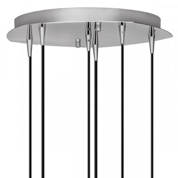 Люстра-каскад Lightstar Pentola 803061, 6xG9x25W, хром, прозрачный, металл, стекло - миниатюра 2
