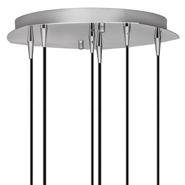 Люстра-каскад Lightstar Pentola 803061, 6xG9x25W, хром, прозрачный, металл, стекло - фото 2