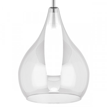 Люстра-каскад Lightstar Pentola 803061, 6xG9x25W, хром, прозрачный, металл, стекло - миниатюра 5