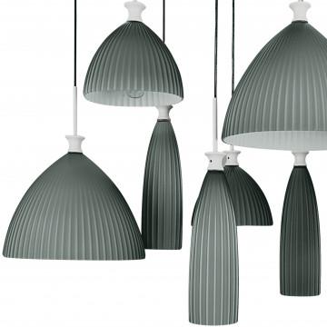 Люстра-каскад Lightstar Agola 810221, 12xE14x40W, хром, серый, металл, стекло - миниатюра 2