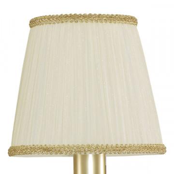 Подвесная люстра Lightstar Modesto 781032, 3xE14x40W, матовое золото, белый, прозрачный, металл, текстиль, хрусталь - миниатюра 5