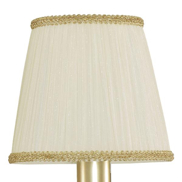Подвесная люстра Lightstar Modesto 781032, 3xE14x40W, матовое золото, белый, прозрачный, металл, текстиль, хрусталь - фото 5