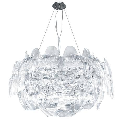 Подвесная люстра Lightstar Planaria 808030, 3xE27x40W, хром, прозрачный, металл, пластик - миниатюра 1