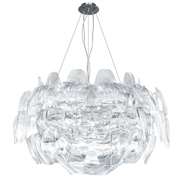 Подвесная люстра Lightstar Planaria 808030, 3xE27x40W, хром, прозрачный, металл, пластик - фото 1