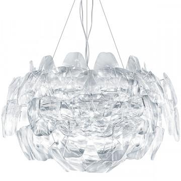 Подвесная люстра Lightstar Planaria 808030, 3xE27x40W, хром, прозрачный, металл, пластик - миниатюра 2