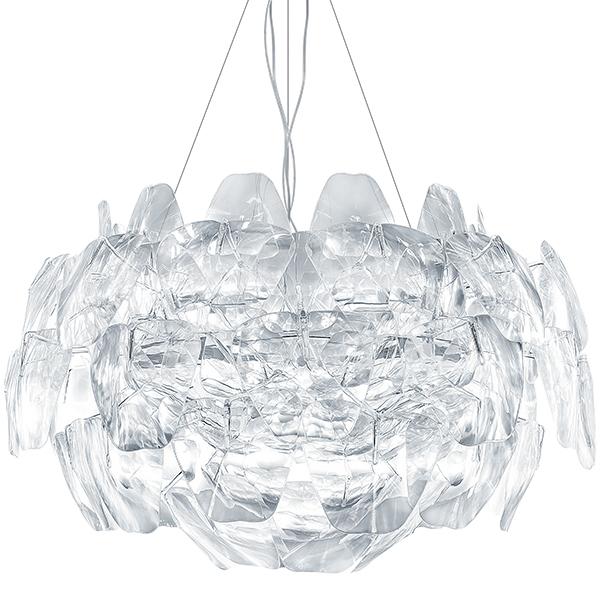 Подвесная люстра Lightstar Planaria 808030, 3xE27x40W, хром, прозрачный, металл, пластик - фото 2