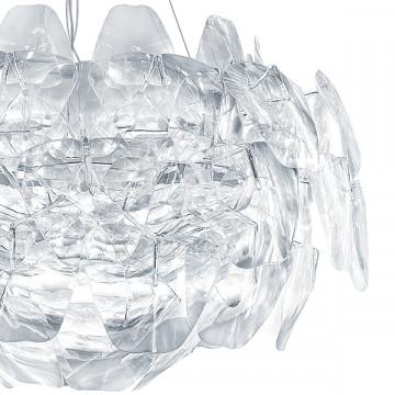 Подвесная люстра Lightstar Planaria 808030, 3xE27x40W, хром, прозрачный, металл, пластик - миниатюра 3