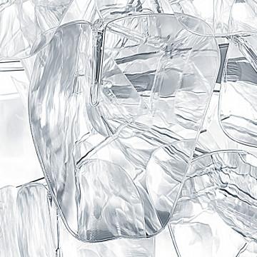 Подвесная люстра Lightstar Planaria 808030, 3xE27x40W, хром, прозрачный, металл, пластик - миниатюра 5