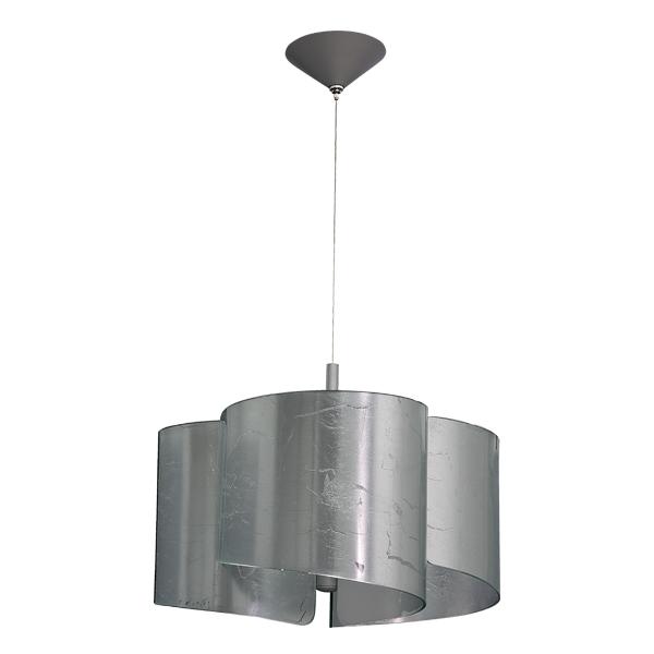 Подвесная люстра Lightstar Pittore 811134, 3xE27x40W, серебро, металл, стекло - фото 1
