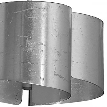 Подвесная люстра Lightstar Pittore 811134, 3xE27x40W, серебро, металл, стекло - миниатюра 5