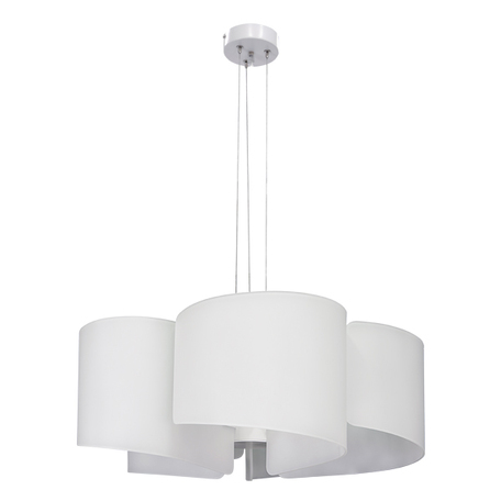 Подвесная люстра Lightstar Pittore 811150, 5xE27x40W, белый, металл, стекло