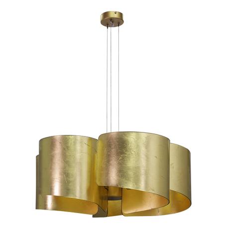Подвесная люстра Lightstar Pittore 811152, 5xE27x40W, матовое золото, металл, стекло