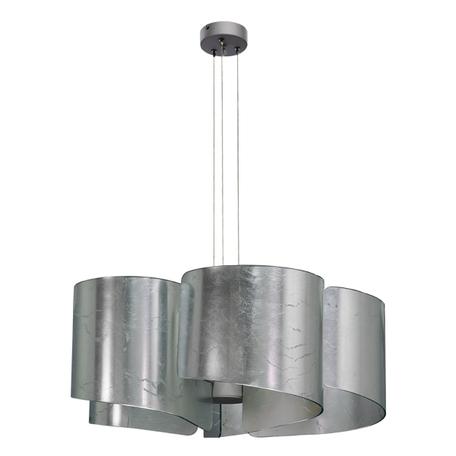 Подвесная люстра Lightstar Pittore 811154, 5xE27x40W, серебро, металл, стекло