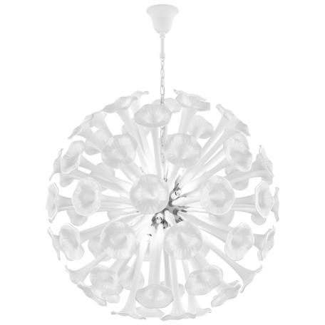 Подвесная люстра Lightstar Bardano 891186, 18xG9x40W, хром, белый, металл, стекло