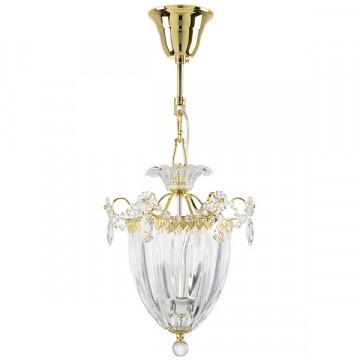 Подвесная люстра Lightstar Osgona Schon 790032, 3xE14x60W, золото, прозрачный, металл, хрусталь